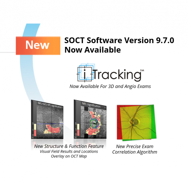 New SOCT Software Version 9.7.0