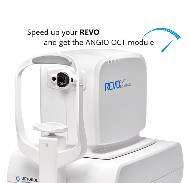 <small>Upgrade your hardware & ANGIO OCT in SOCT Copernicus REVO</small>