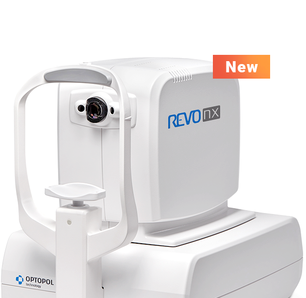 World's<br>Fastest OCT<br>REVO NX