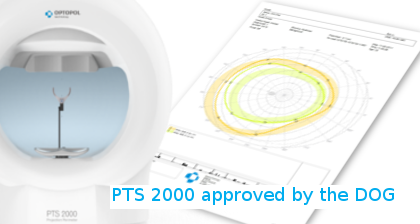 PTS 2000 approved by the DOG in Germany